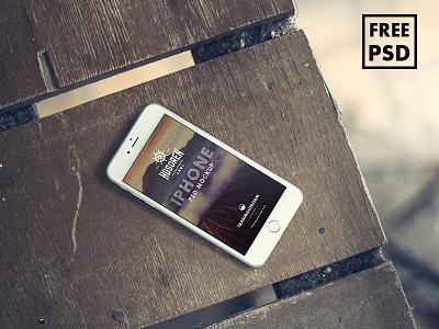 Hosoren - 10 Photorealistic iPhone 6 FREE PSD Mockups psd mockup free psd free mockup photorealistic free download iphone iphone 6 template free iphone 6 mockup download free