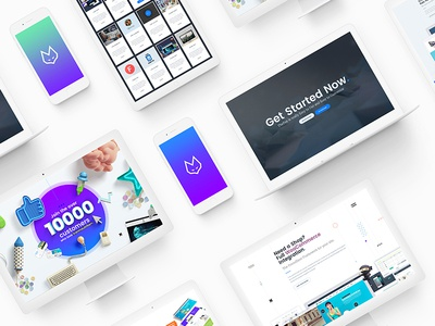 TheFox Landing Page Presentation on Behance