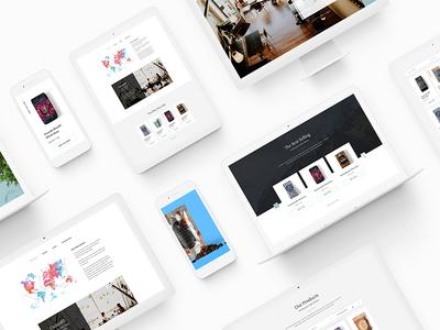 UpStanders Cafe | Coffee & Tea Shop - Web Design