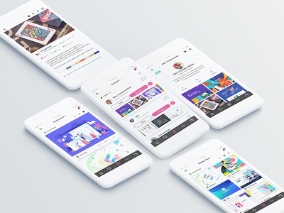 Dribbble's iOS App - Redesign: Behance Presentation