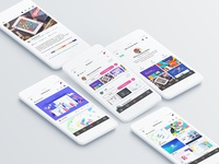 Dribbble's iOS App - Redesign: Behance Presentation