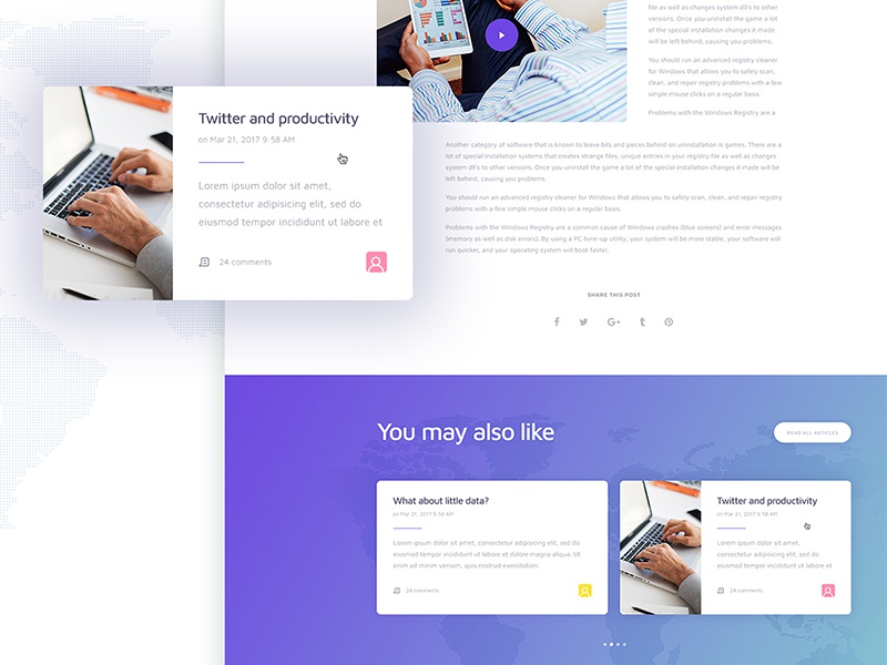 [FREE] MIsocial PSD Template