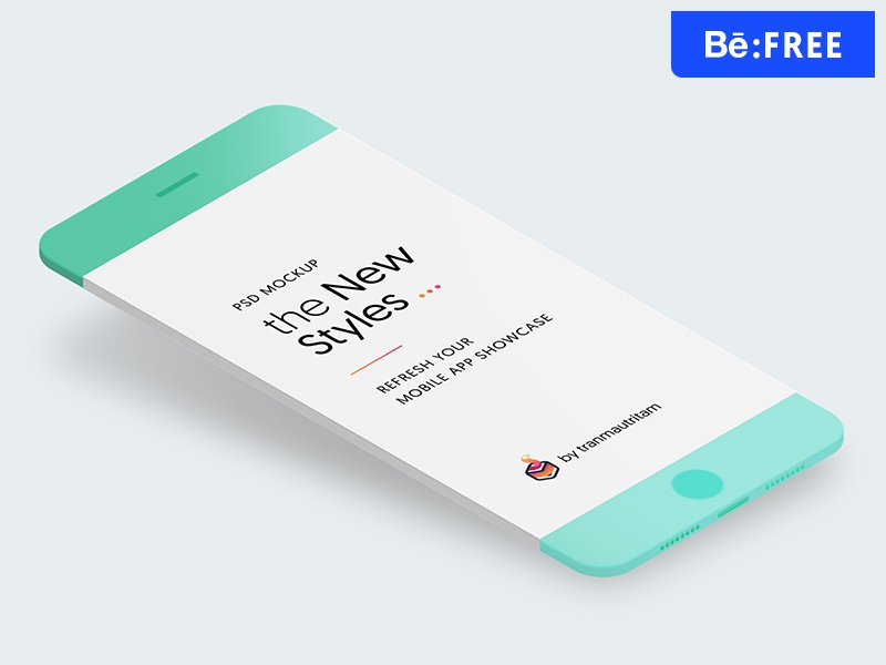 🎁 Free Download: Minimal Phone Mockups minimalistic phone iphone mockup mockups free download free mockup free psd free template screen mobile