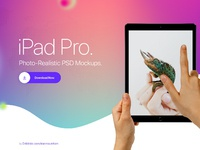 Banner ipad hands by tranmautritam