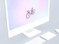 iMac 5k Mockups - White Matte