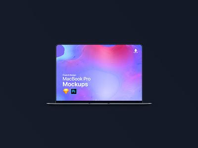 Macbook Pro Mockup - Free Download freebie macbook macbookpro minimal symbols smartobject sketchsymbols hires 4k mockups mockup freebies