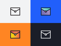 Daily Icon #001 - Email Icon