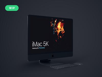 iMac 5K Mockup [W.I.P]