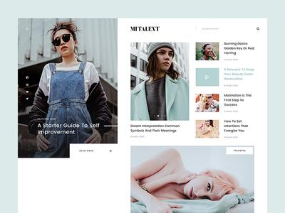 MITALENT | Blog fixed press blue clear clean fresh model fashion magazine news blog