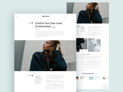 MITALENT | Single Blog ui design ux design web design post clean blog magazine news blog detail blog single blog