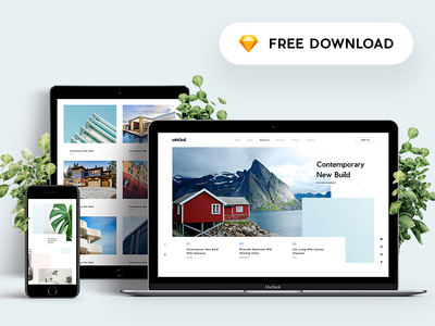 MI Home - Free Sketch App Template