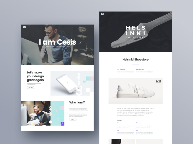 psd templates free download