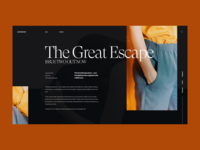 The Great Escape :: Layout Exploration