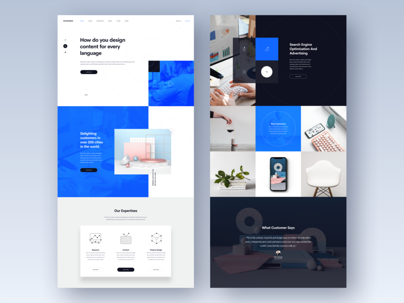 Free Website Template Designs Themes Templates And Downloadable Graphic Elements On Dribbble