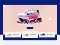 Nike :: Header Concept