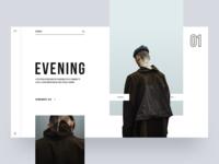 Evening :: Layout Exploration