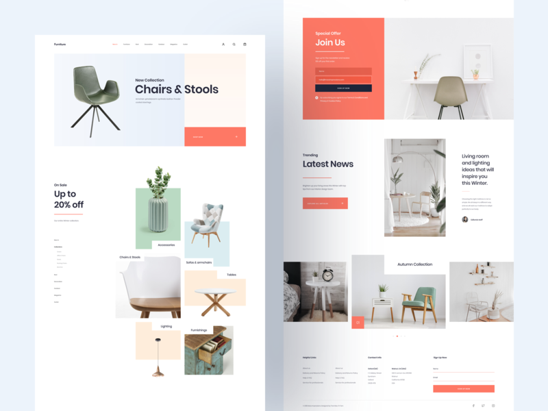 Mi Furniture :: Home Page tranmautritam shop website shop lifestyle blog furniture sketch freebie freebies free download ui design kit ui designer ui clean design ui designs clean design clean website lifestyle minimal creative web design ui design clean