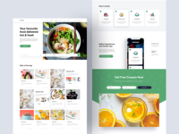 Freebie: Mi Food - Sketch App Template
