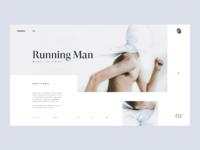 Undesign running man tranmautritam dribbble