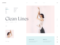 LOOKBOOK :: Clean Lines