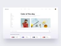 Colors.Design :: Layout Exploration