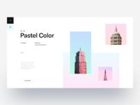 Pastel color layout exploration tranmautritam