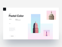 Pastel Color 2 :: Layout Exploration