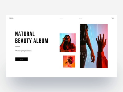 Fashion :: Layout Exploration typography white website minimal app design minimal website clean style clean layout design clean ui design animation animated landing page design layouts wordpress landing page fashion tranmautritam minimal creative web design ui design clean