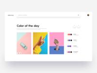 Colors Design :: Layout Exploration