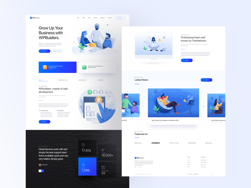 Web Developer Designs Themes Templates And Downloadable Graphic Elements On Dribbble
