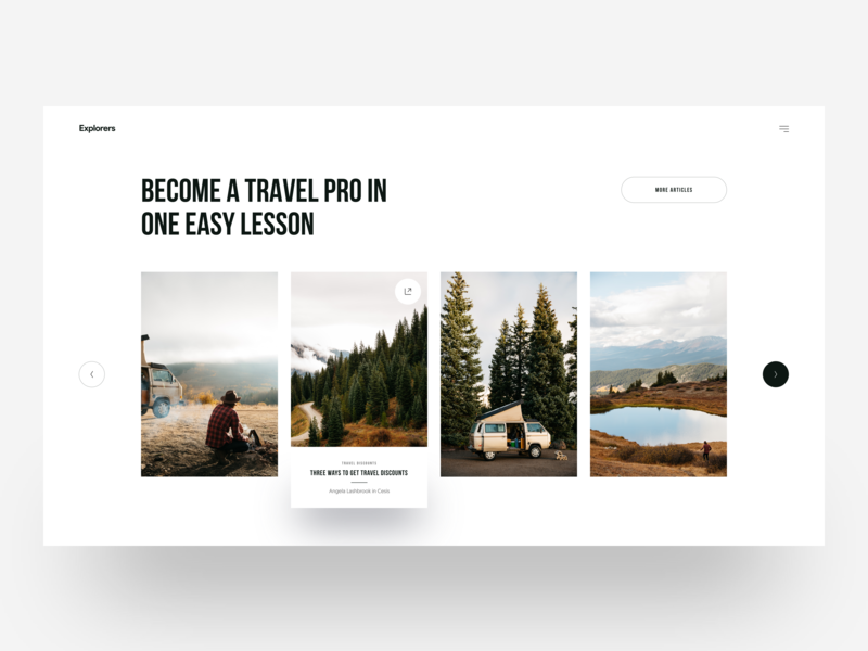 Explorers :: Layout Exploration clean ui design web design creative minimal tranmautritam travel discover layouts travel agency travel website santorini minimal layout web design service freelancer freelancing blue typography simple free download