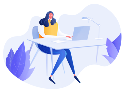 Working Woman :: Illustration