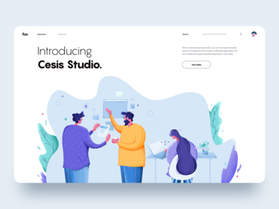 Team Work :: Illustration :: Cesis Studio