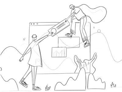 Cesis WordPress :: Front-End Editor :: Illustration tranmautritam team envato theme landing design page builder front end editor ui designers business woman business man team work illustration wordpress business landing page tranmautritam minimal creative web design clean ui design