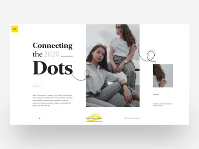 Connecting the Dots :: Layout Exploration