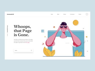 Page Not Found :: Illustration :: Web Design