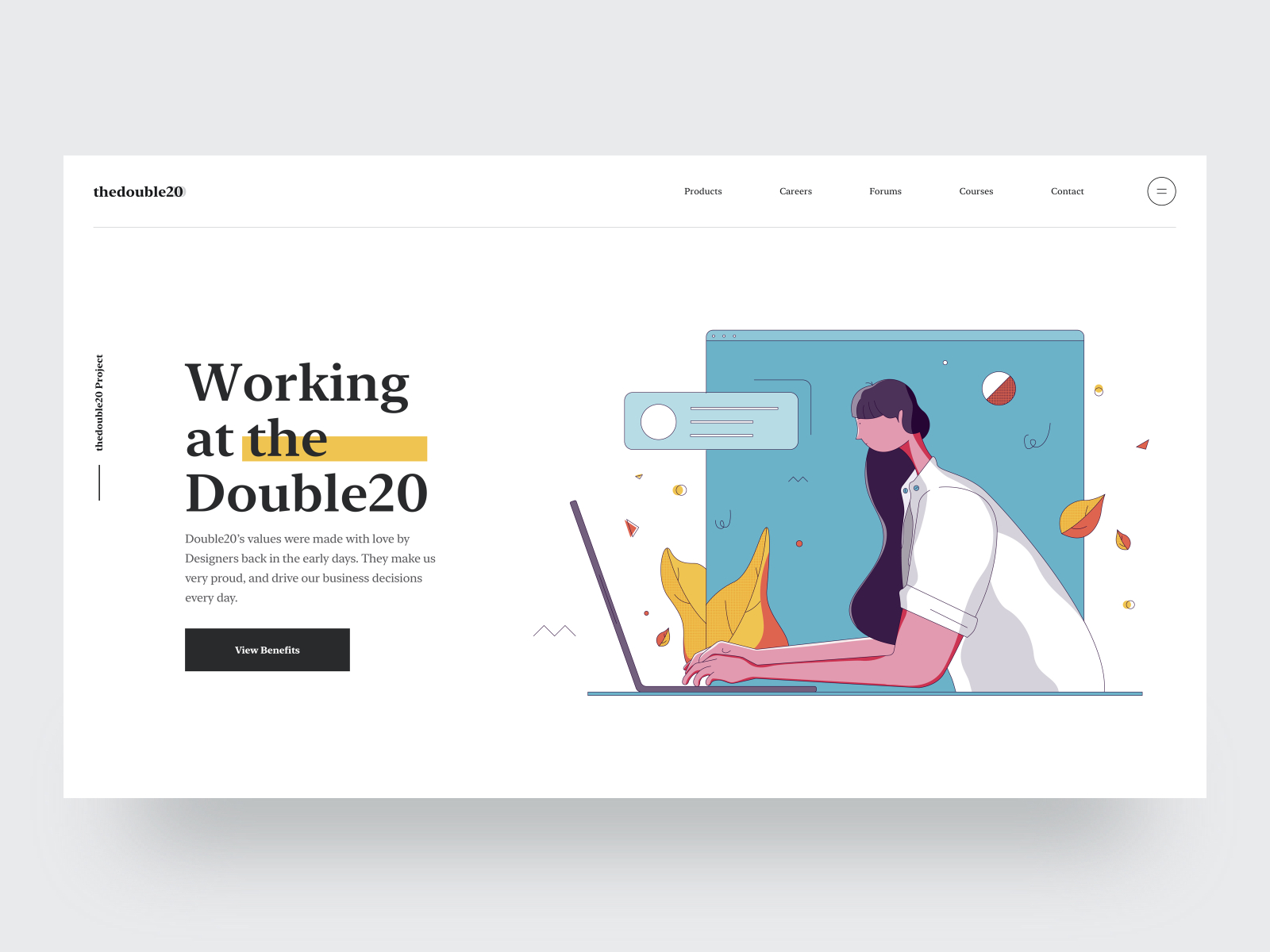 Careers Website Banner Illustration Concept By Tran Mau Tri Tam On Dribbble