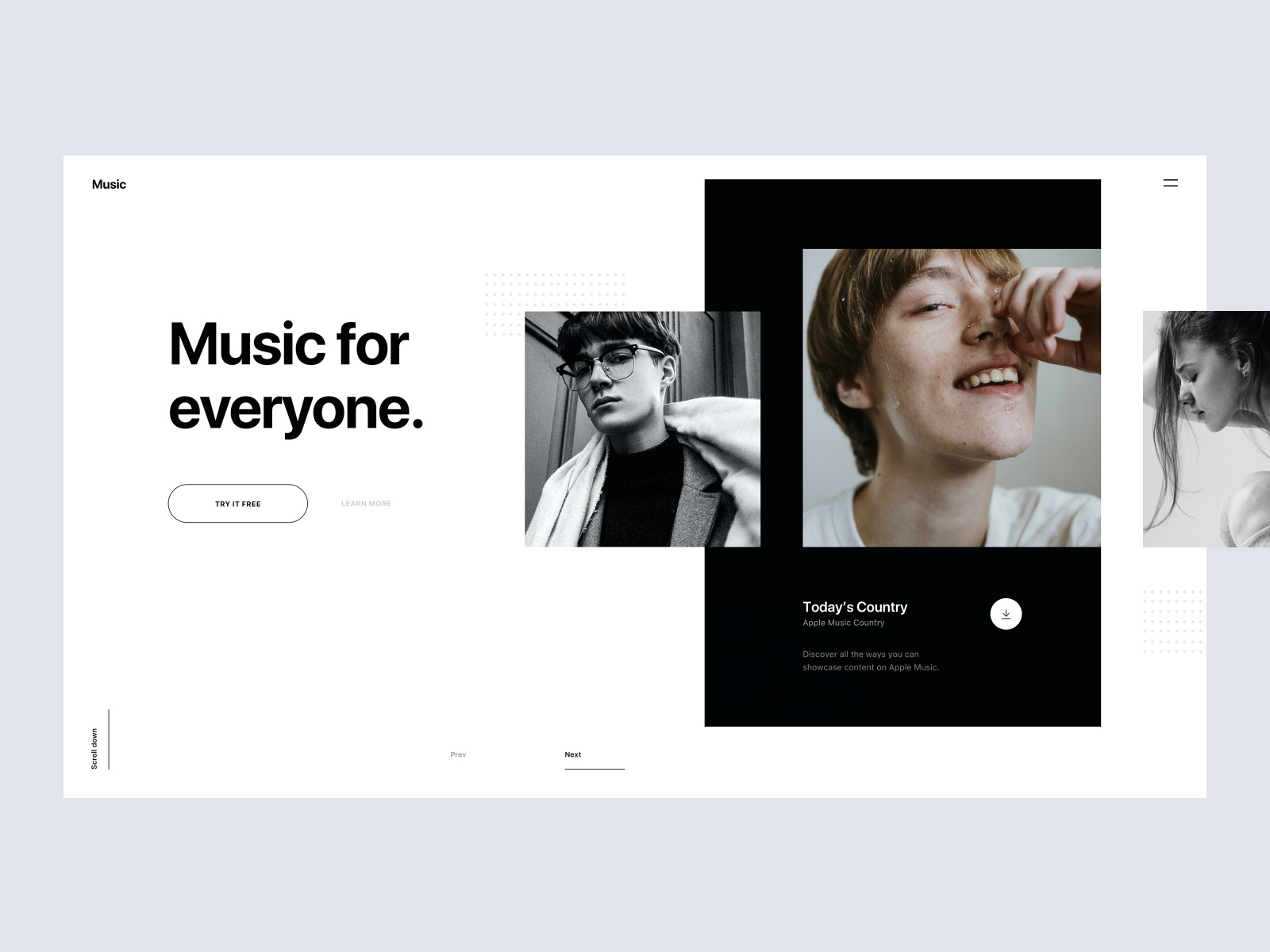Music concept   tranmautritam   white