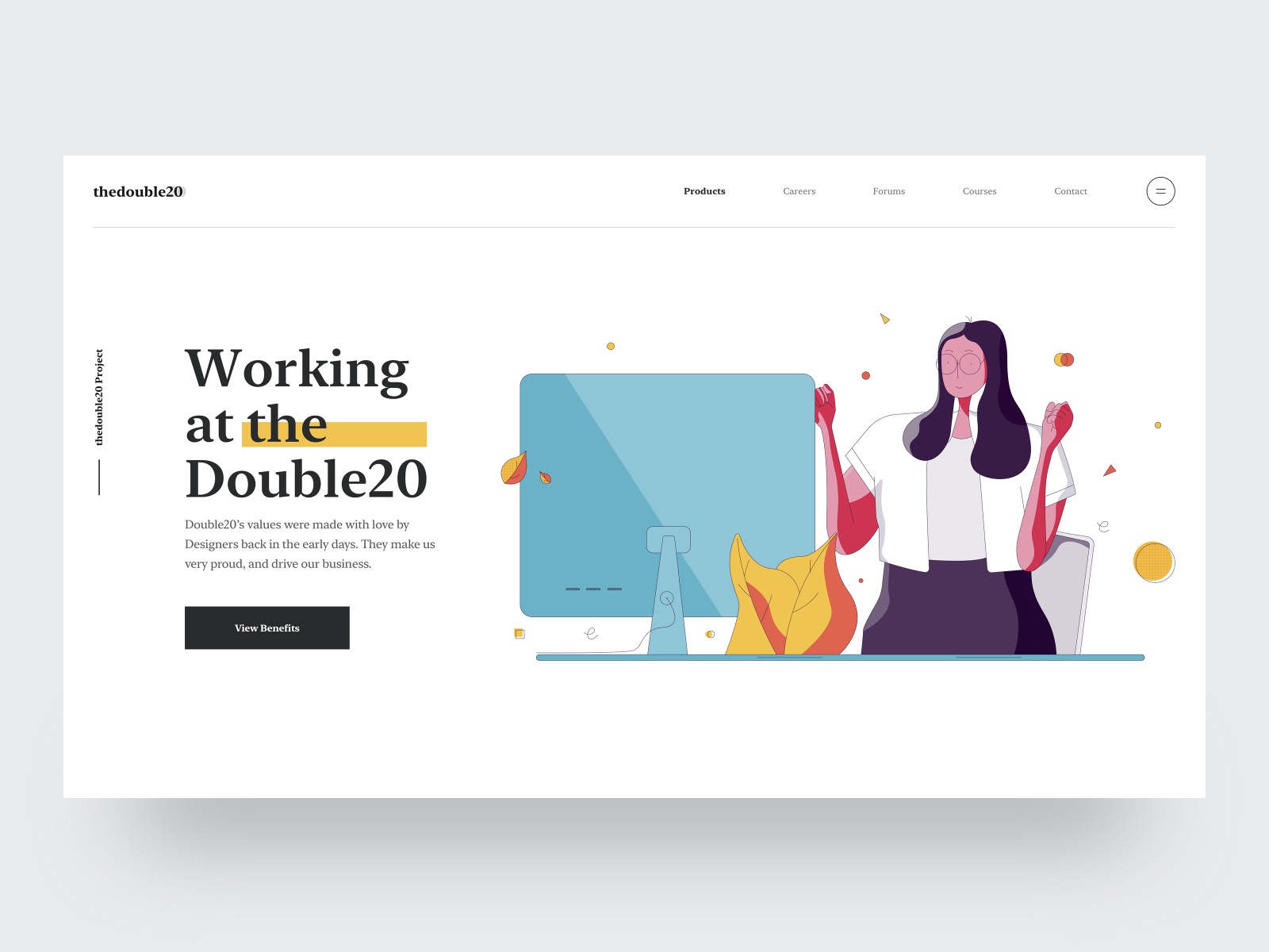 Careers Website Banner Yay Illustration By Tran Mau Tri Tam On Dribbble