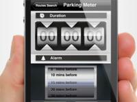 Parkline app design   UI,UX interface