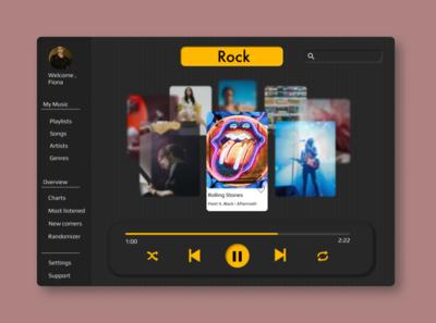Music Carousel on iPad