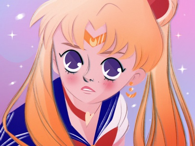 Sailor Moon cartoon illustration design concept art concept character design characters character cartoon artwork art procreate illustration mangaart manga anime sailor sailormoon