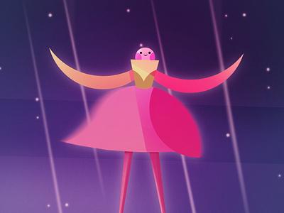 Fairy character characterdesign digital flatdesign vector art fairy procreate digitalart illustration