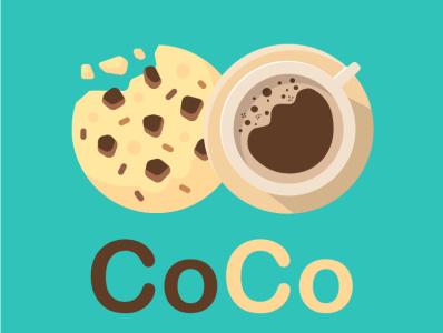 logo for coffee shop vector icon illustraion coffe logo