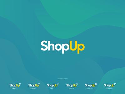ShopUp Rebrand minimal app icon ux ui web logo branding