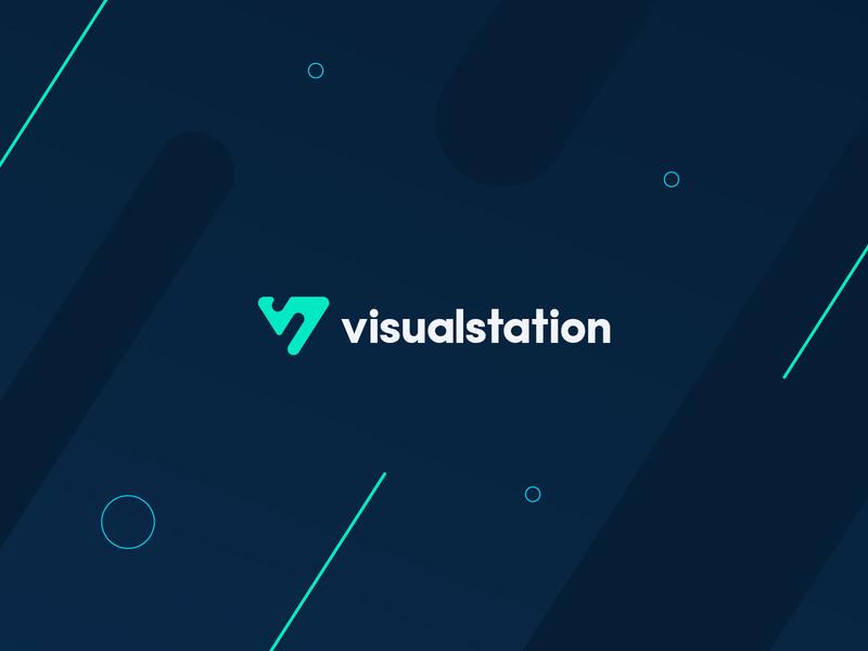 Visualstation Branding minimal website ux ui design icon app logo branding