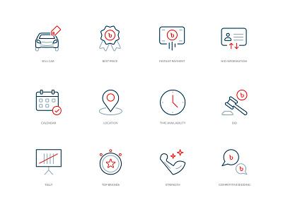 Snapsel Icon Set minimal branding vector flat design iconset icon icons simple illustrations modern