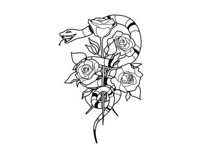 Snake&Rose V.2