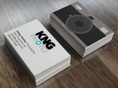 KNG Photo Business Cards
