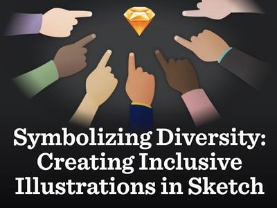 Inclusive Symbols in Sketch illustration diversity inclusive symbols sketchapp